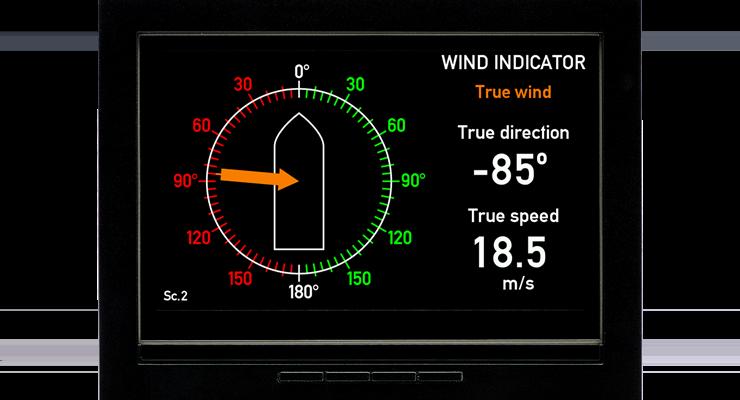 Xdi N Front True Wind
