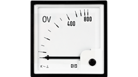 Zero voltage meter
