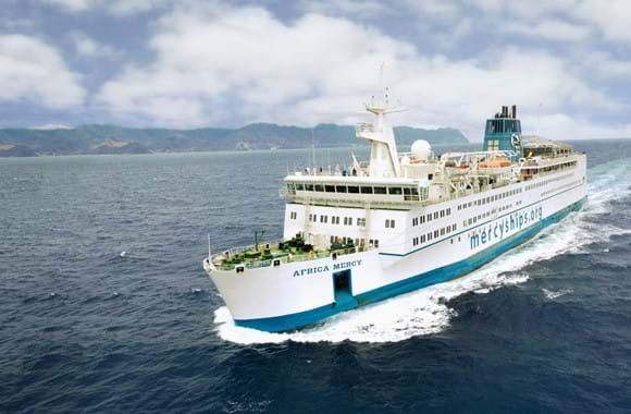 DEIF supports hospital ship
