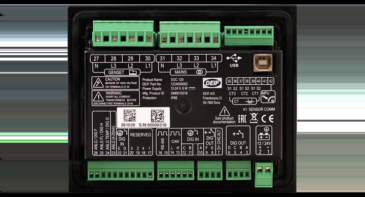 SGC 120 (Back)