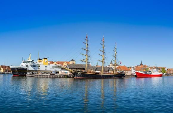 Automated power management system increases safety aboard full-rigged ship