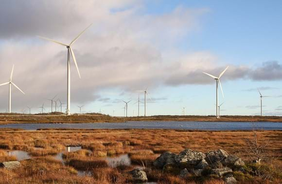 Commissioning 75 MW for Blaiken wind park