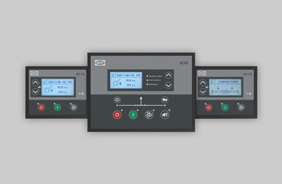 NEW Single Genset Controller series for standby applications